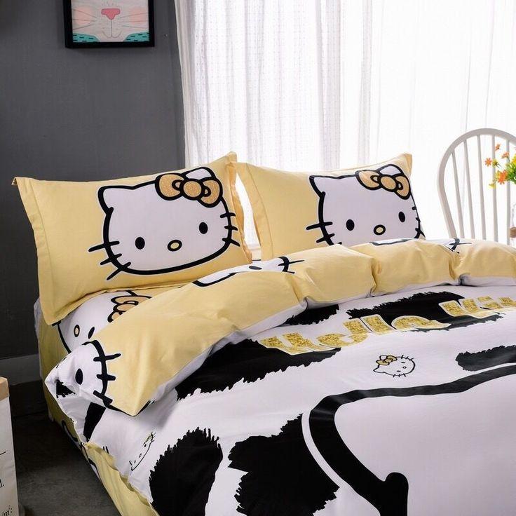 Cat Queen Bed Sheets