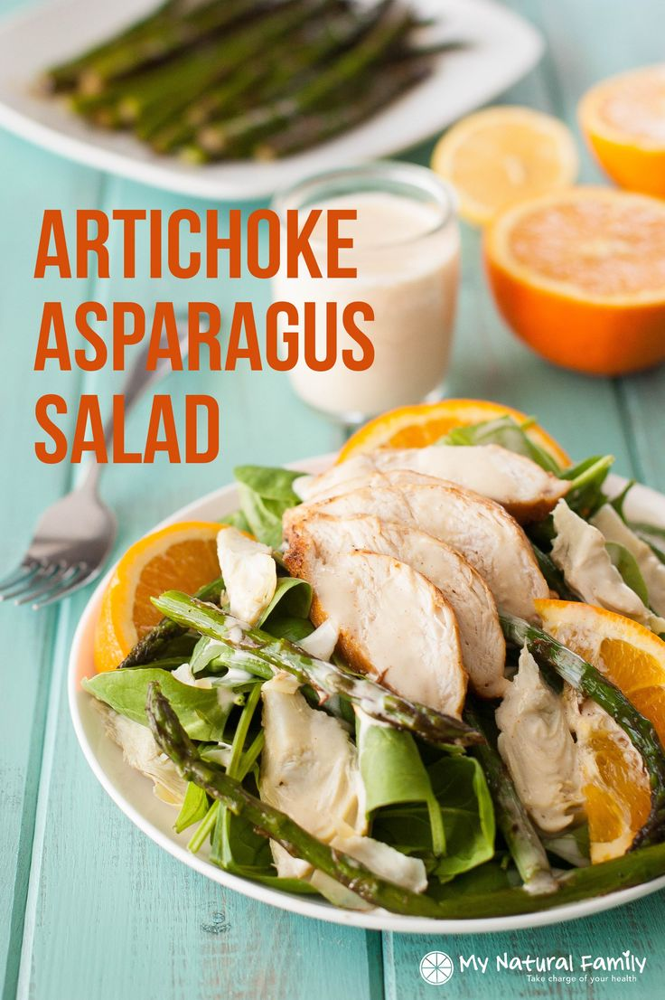 love how the asparagus tastes in it this Paleo chicken salad ...