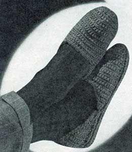 Men's Slippers Patterns | No. 4710 | Crochet Patterns