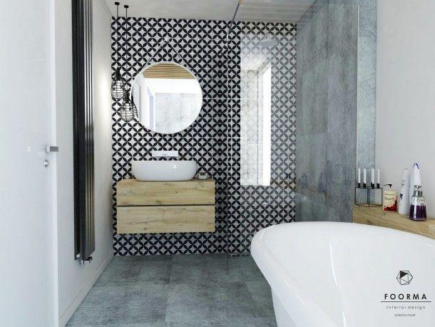 Mała nienudna łazienka. | CoolHunters