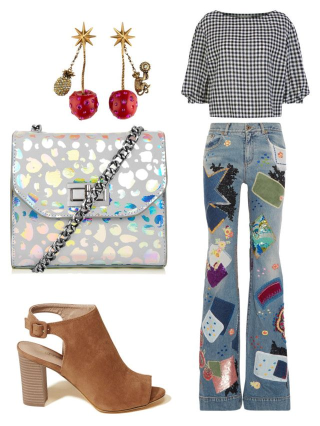 """""""Untitled #17"""" by rayssaoliveira-i on Polyvore featuring Roberto Cavalli, Hollister Co., Sonia Rykiel and Gucci"""