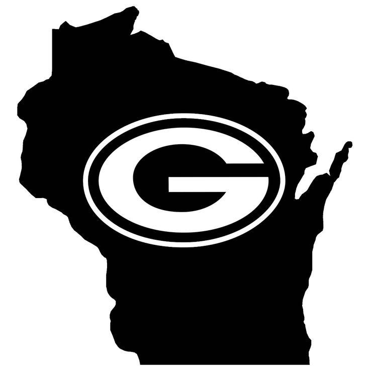 Green Bay Packers (Wisconsin Pride)  --Vinyl Decal--. $4.00, via Etsy.