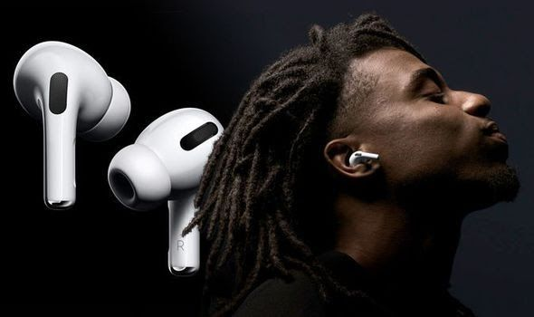 Apple S Airpods Pro Will Arrive In Stores Tomorrow And Feature A New Design And Noise Cancelling Technology Express Co Uk Has Alread Airpods Pro Earbuds Apple