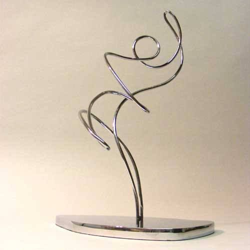Day three of our PR, Media and advertising awards with the Rainmaker Award. Commissioned especially by a leading #adgency the Rainmaker Award features an abstract figurine resting on a handmade base. Read our latest post to find out more about our exciting new collection pages and bespoke awards. #design #designers #wire #sculpture #london #hattongarden #award #awards #trophy #trophies #customdesign