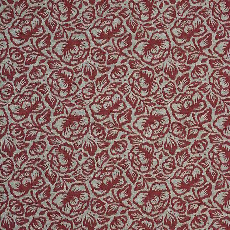 Warwick Fabrics : MORNINGTON, Colour FLAME