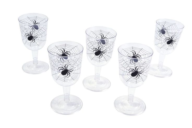 SPIDER WEB WITCH GOBLETS 6 PCS HALLOWEEN FANCY DRESS PARTY ACCESSORY   Home, Furniture & DIY, Celebrations & Occasions, Party Supplies   eBay!