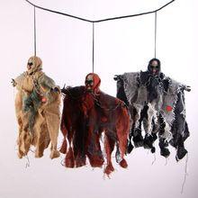 Новый хэллоуин реквизит ужасы забавный кричащие призрак череп игрушка бар ужасы дом украшения хэллоуин страшные реквизит(China (Mainland))