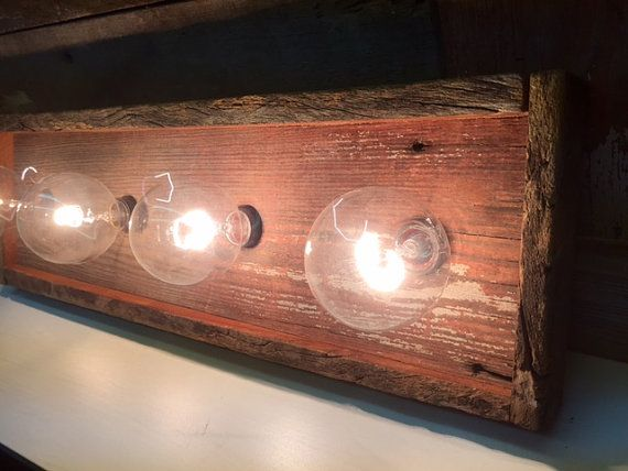 Best 25+ Rustic vanity lights ideas on Pinterest Rustic bathroom fixtures, Vanity light ...