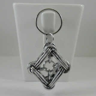 soda tab key chain