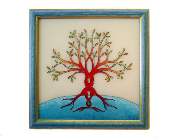 Tree of Life Wall Picture, Tree of Life Home Decor, Original Paiting