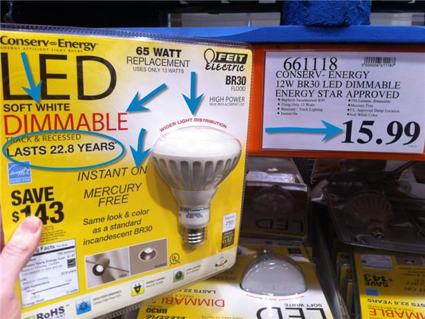 Recessed LED Lighting for your Basement - Save $700