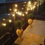 Contemporary Outdoor Globe String Lights