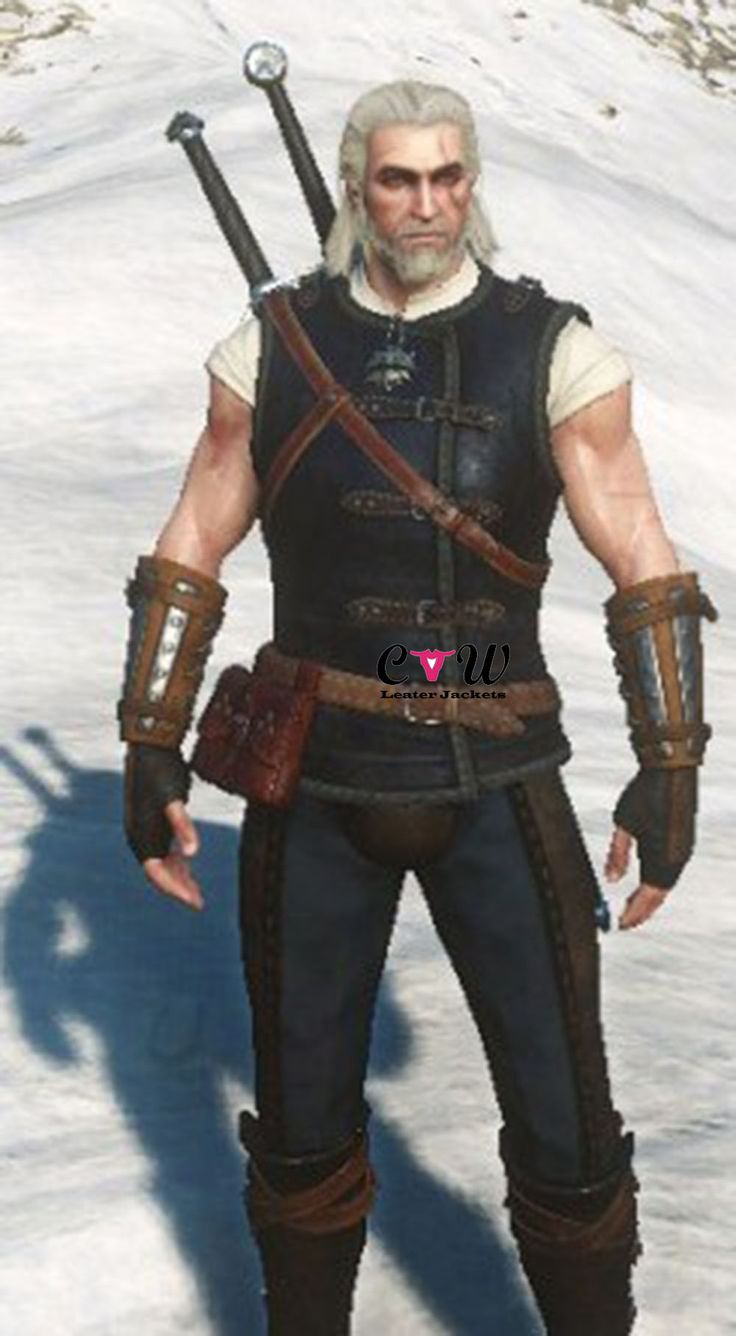 Witcher 3 Leather Vest