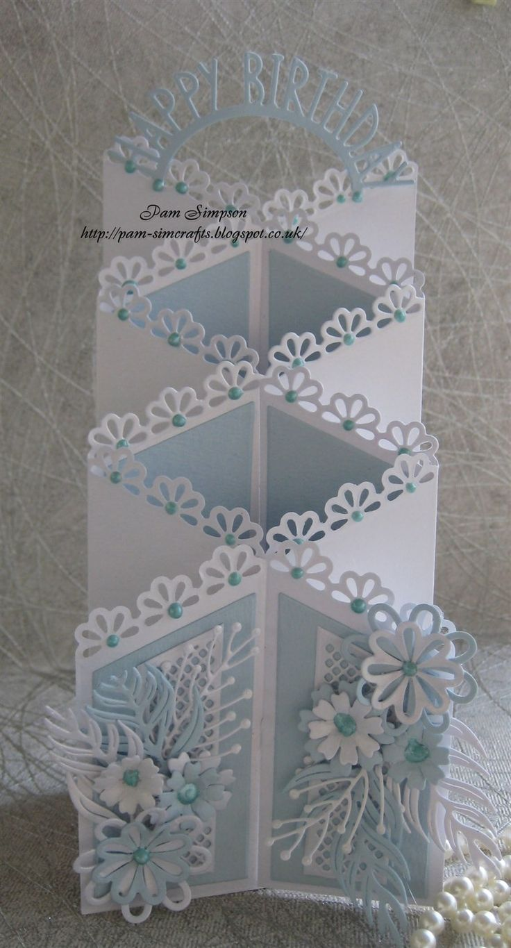 best ideas about cascading card on pinterest tri fold cards