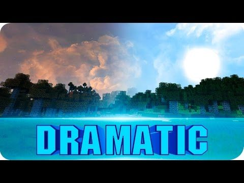 Minecraft - Dramatic Sky Resource Pack - 1.8.7 Texture Pack (Realistic Custom Sky) - YouTube