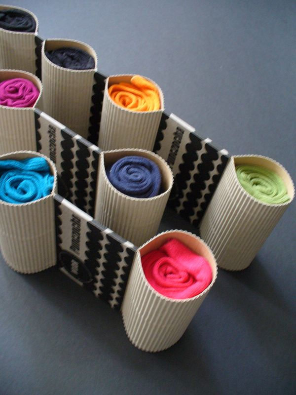 How about this neat sock #packaging Giovanna Mastrocola by Šárka Diop, via Behance? PD