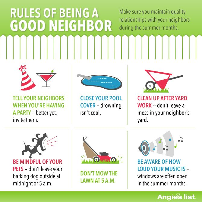 Rules Of Being A Good Neighbor Etiquette Amp Charm Class