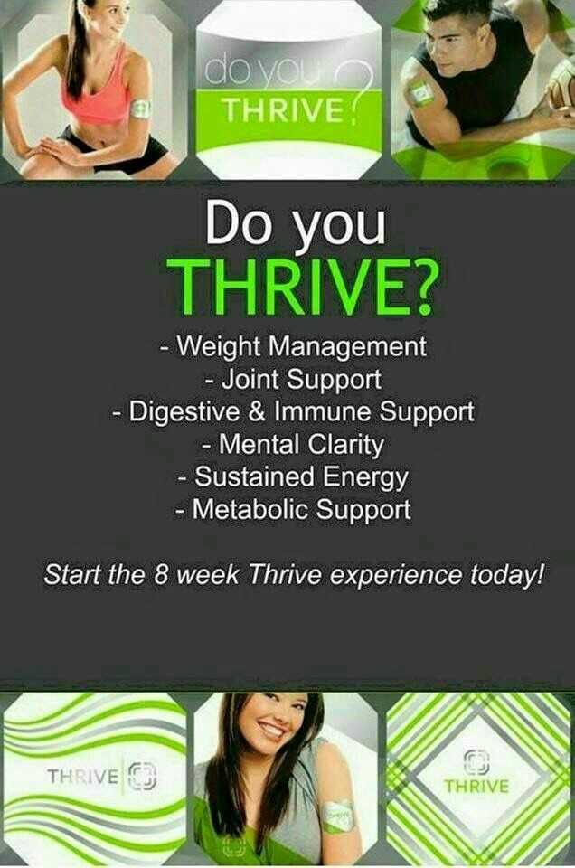 Do you Thrive. you have no idea how great your body is designed to feel.