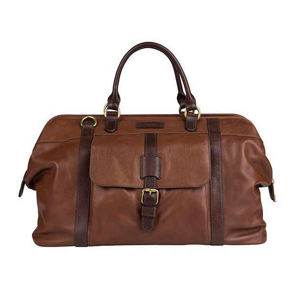 Be stylish even if you are on a business trip: leather travel bag from #Fossil #DesignerOutletParndorf