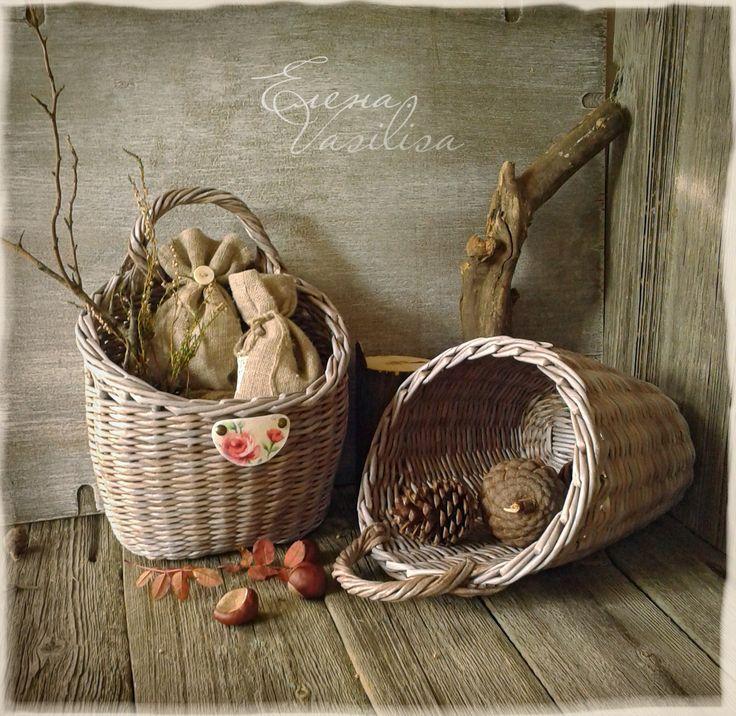 Осень. Плетение из бумаги