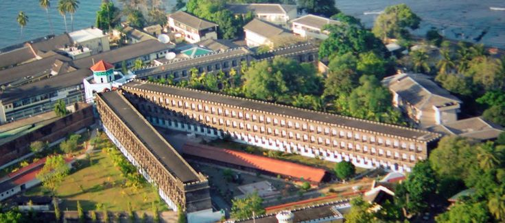 Cellular Jail Located in #portblair in #andaman its also known as kaala paani was a colonial prison in the #Andaman and #NicobarIslands