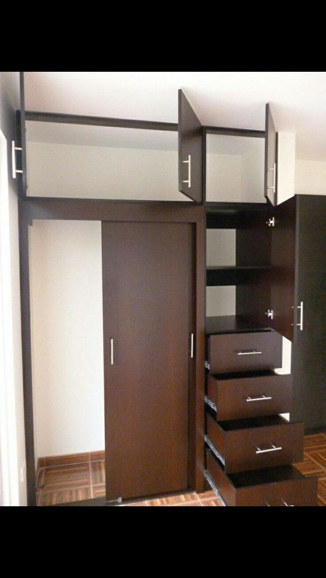 M s de 1000 ideas sobre closets modernos en pinterest for Closet de madera para dormitorios