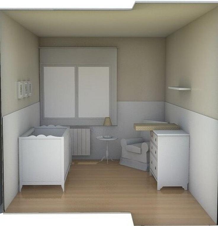 121 best bebe images on pinterest habitaci n infantil - Papel pintado habitacion infantil nina ...