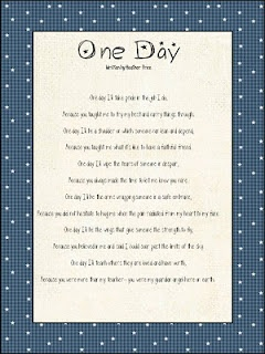 Amazing poem to attach to a teacher's, end of school year, gift.