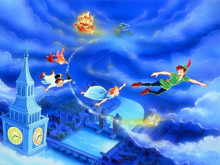 Peter Pan - Cartoons Wallpapers