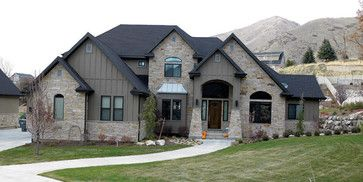 contemporary exterior by Rustic Brick and Stone