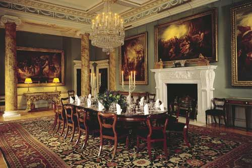 Spencer House London's most magnificent 18th century private palace's dinning room.