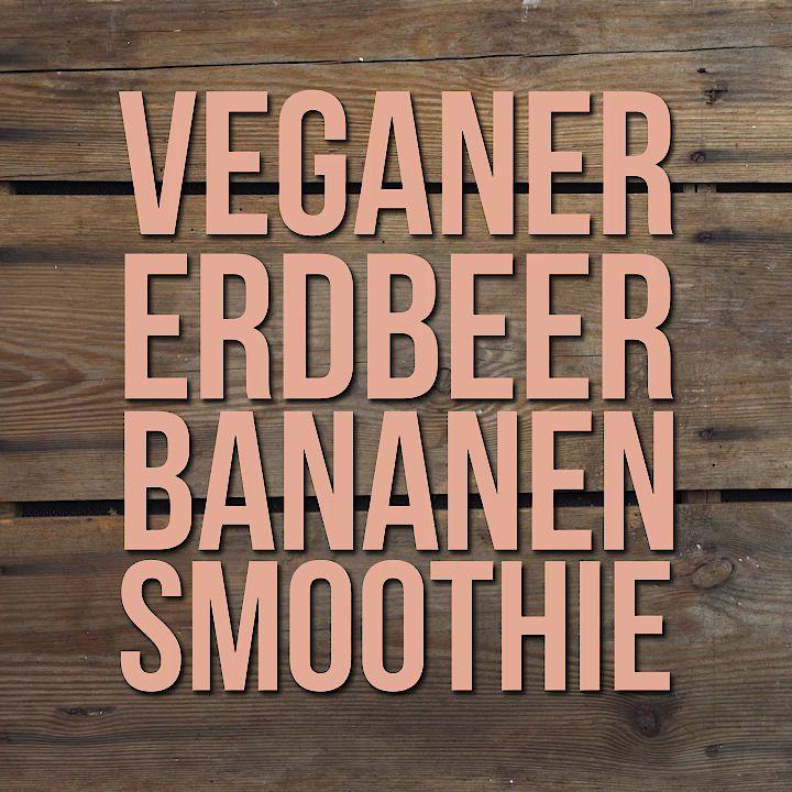 erdbeer bananen smoothie von backfee95