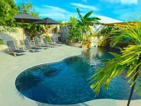 Kokomo- Condo Style Home, Turks and Caicos  This home has 2 bedrooms 1 bathrooom New kitchen with appliances New pool Outdoor Shower Is close to the beach  #turksandcaicos #home #beach #condostyle