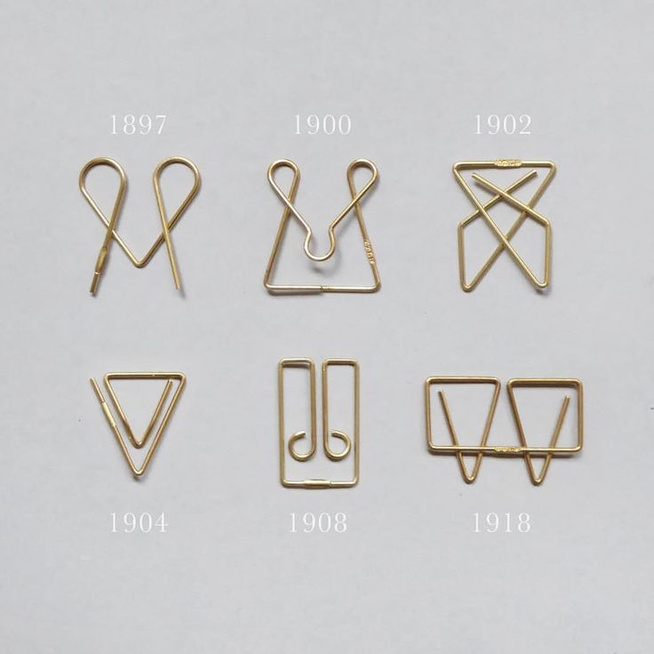 Paperclip history.