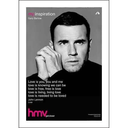 Gary Barlow (Take That) - hmv 'My Inspiration'