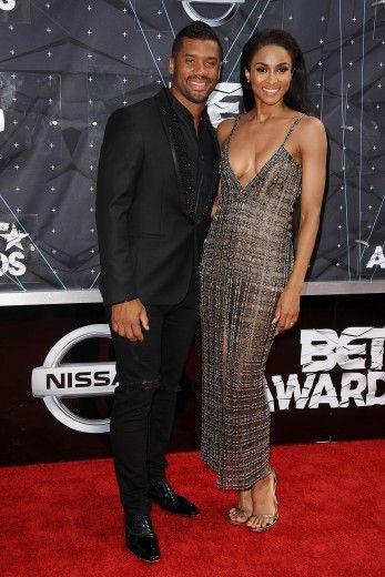 Ciara & boyfriend Russell Wilson