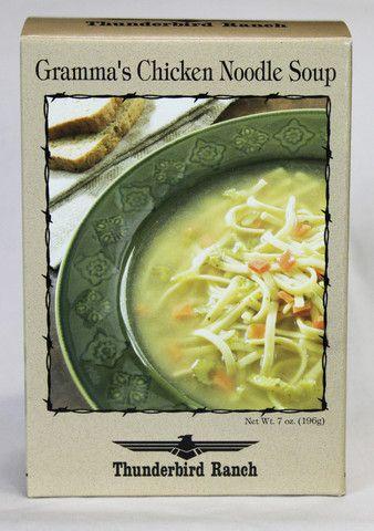 Gramma's Chicken Noodle Soup – Thunderbird Ranch Gourmet Foods