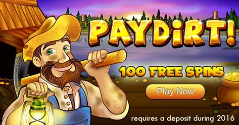#100FREESPINSBONUS @ #SILVERSANDSCASINO – EXCLUSIVE TO #ONLINECASINOBONUS Grab 100 Free Spins @ Silver Sands Casino to play the popular PayDirt slot machine (No Deposit Needed) To claim your 100 Free Spins, redeem code PLAY100SPINS in the cashier.   Offer valid exclusively to players who have deposited at Silver Sands Casino in 2016 & those signing up via the www.OnlineCasinoBonus.co.za network  PLAY NOW @ SILVERSANDS CASINO  http://www.onlinecasinobonus.co.za/goto/silver-sands-casino.html