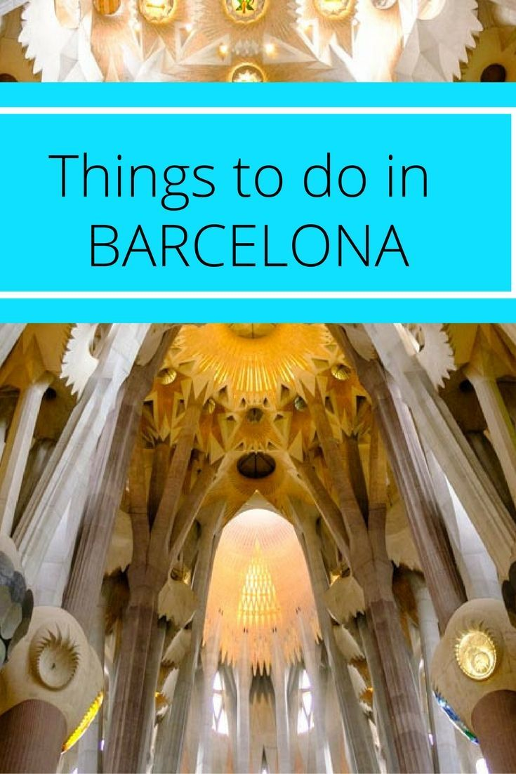 Things to Do in Barcelona and Its Surroundings. Click here to find out more!