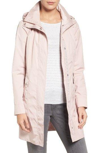 Packable Hooded Raincoat