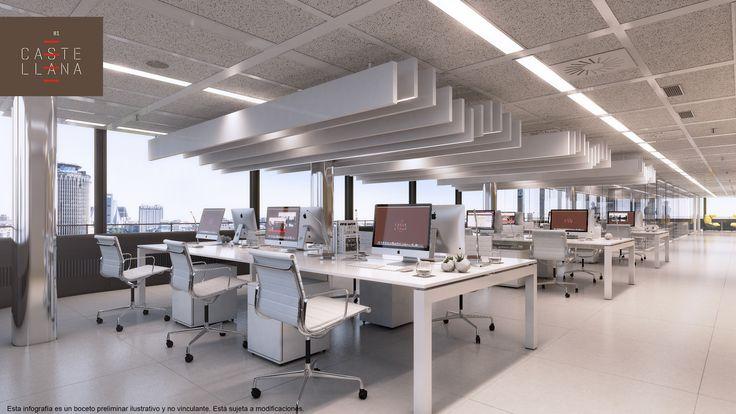 Gmp ofrece el alquiler de oficinas en #castellana81 a todas aquellas empresas, cuya representatividad y notoriedad, requieren de un edificio único y emblemático, al tiempo que eficiente  #oficinas #madrid #rascacielos #alquilerdeoficinas #diseño #business
