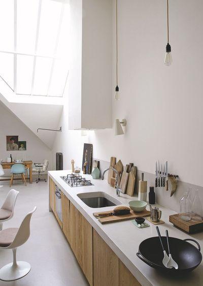 Die 13 besten Bilder zu organisation maison auf Pinterest - offene küche planen