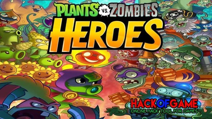 Plants Vs Zombies Heroes Hack 2019 Get Free Unlimited Gems & Gold To