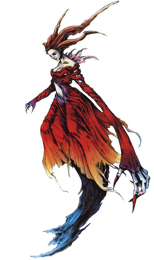 Eve 1st Form from Parasite Eve