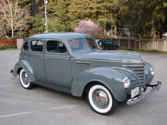 The second glance told him that the car was a 1939 for 1930 plymouth 4 door sedan