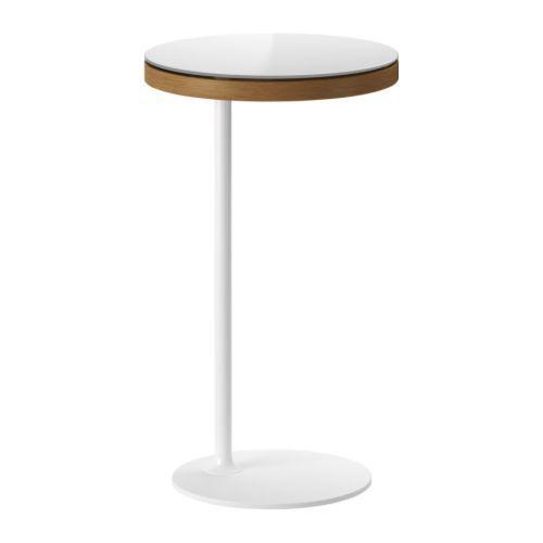 IKEA STOCKHOLM Table d'appoint IKEA Large espace de rangement sous le plateau de table. Verre trempé.