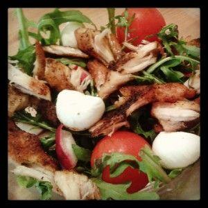 urrys csirke magyar salátával