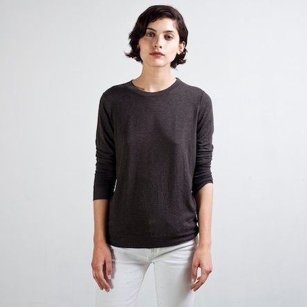 The Women's French Terry Graphite – Everlane