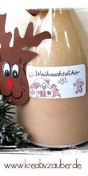 Last Minute Geschenk Idee - Weihnachtslikör - Lebkuchenlikör - wirklich super lecker #weihnachten #weihnachtsgeschenke