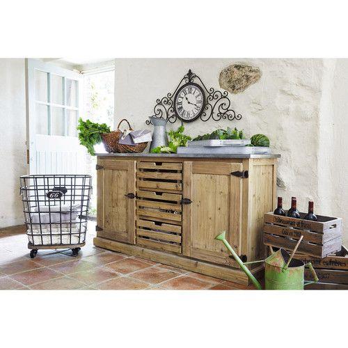Buffet en bois recyclé L 160 cm